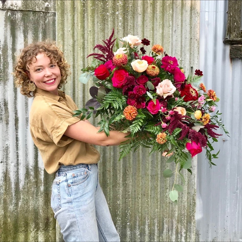 Emily Bryant flower arrangement