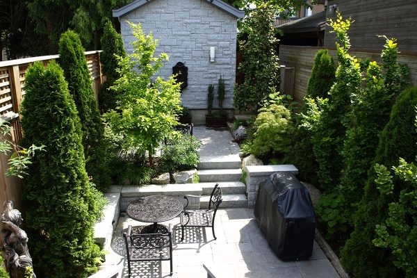 Small garden Vancouver British Columbia Dunbar landscape design Stephen Stewart outdoor room